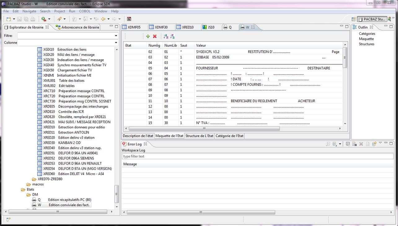 PACStudio – PAC2COBOL - Regeneration of the same code Pacbase, COBOL
